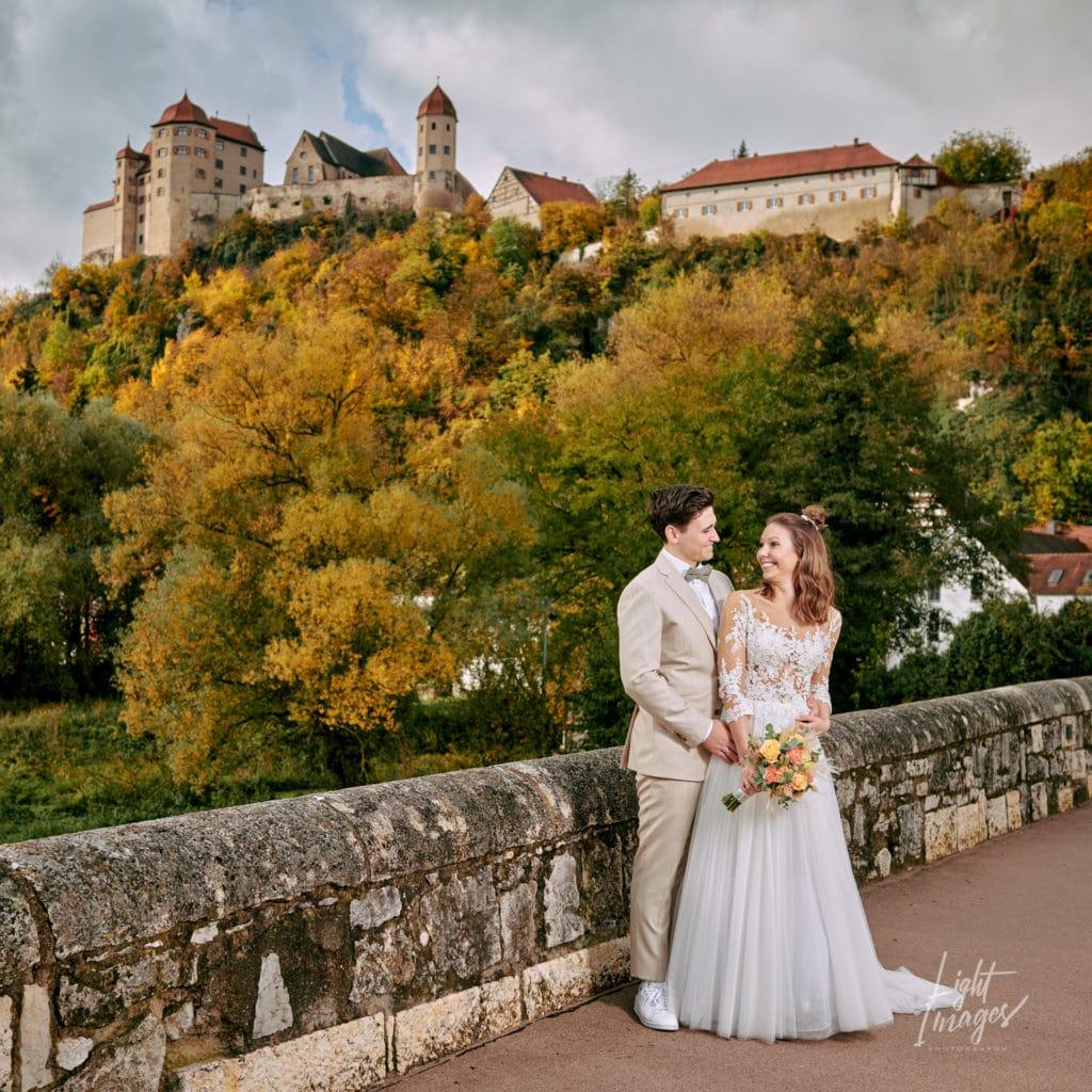After-Wedding an der Steinernen Brücke in Harburg