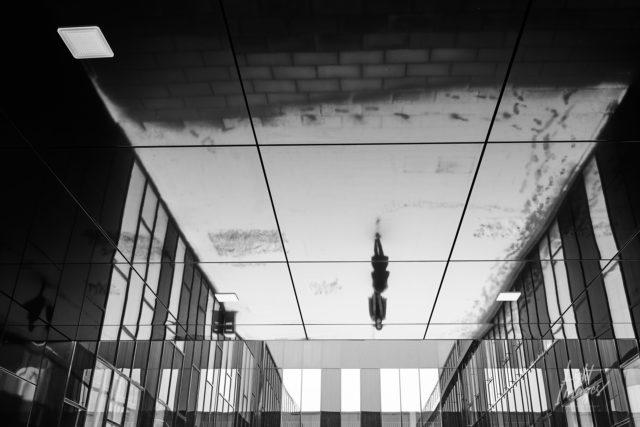 Spiegelung in Augsburg-Haunstetter